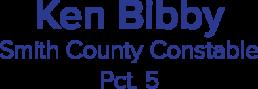 ken bibby smith county constable