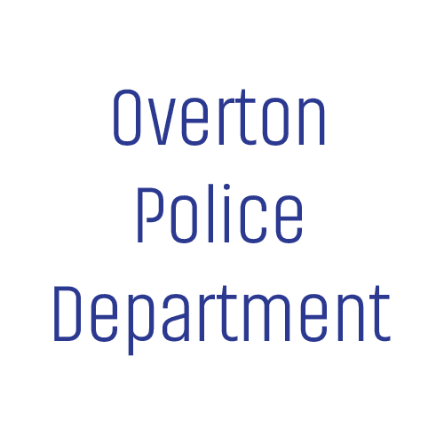 overton police department temporary logo